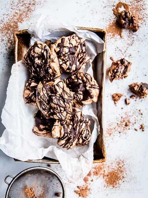 مارينج الشوكولاتة منخفضة الكربوهيدرات