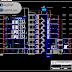 مخطط مشروع نزل 8 طوابق اوتوكاد dwg