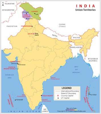 what is union territory | about union territory