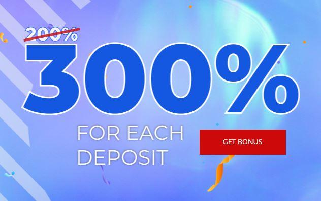 FreshForex 300% Deposit Bonus - Deposit $100 Get Bonus $300