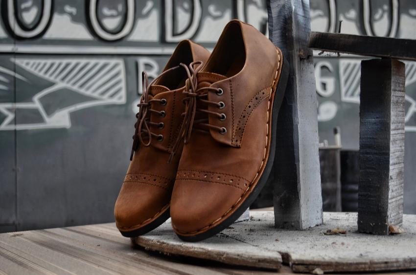 Pesona Sepatu Pria Asli Indonesia yang Membuana - Mukhsin Pro 1b9383e972