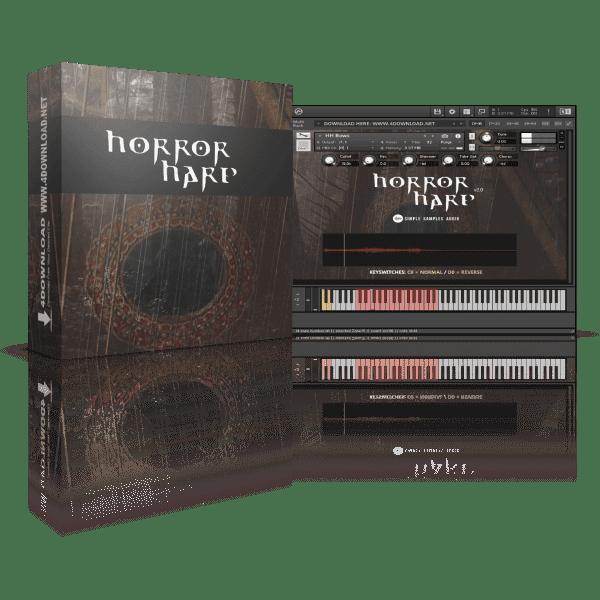 Simple Samples Audio Horror Harp v2.0 KONTAKT Library