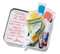 First-Aid Kit and a Donation