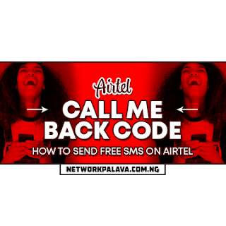 airtel call me back code free sms
