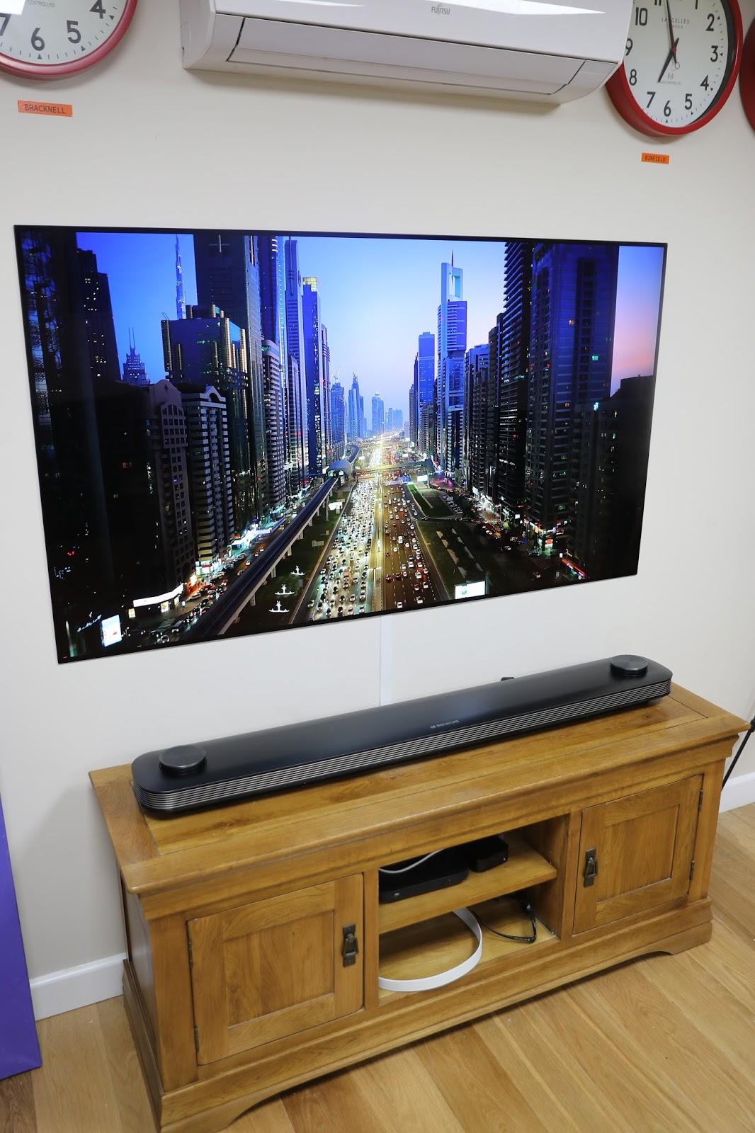 RevK®'s rants: Installing LG OLED65W7V Wallpaper TV