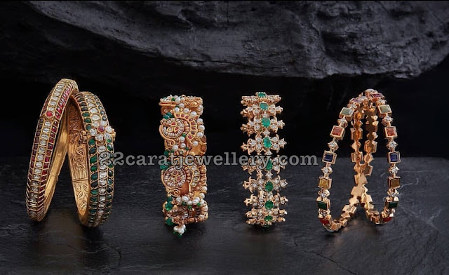 Stylish Bangles from Creations Jewellery