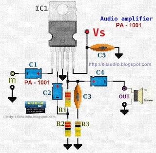 tda 2 8 1 2 10 + 10 w stereo amplifier for car radio 3v 1/2 tda 2004r 1/2 tda 2004r 5 93 7 8 4 10 v 22µf c12 12 08 04 10102 3 4 f.