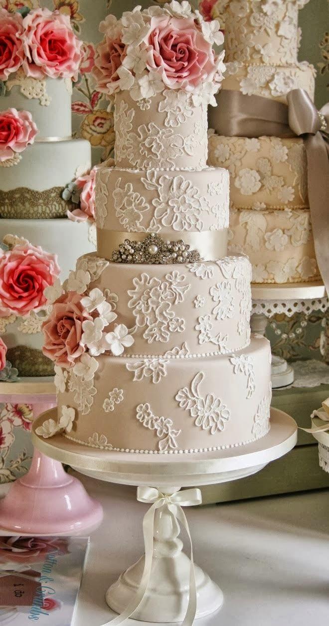Vintage Beautiful Cakes Decorator