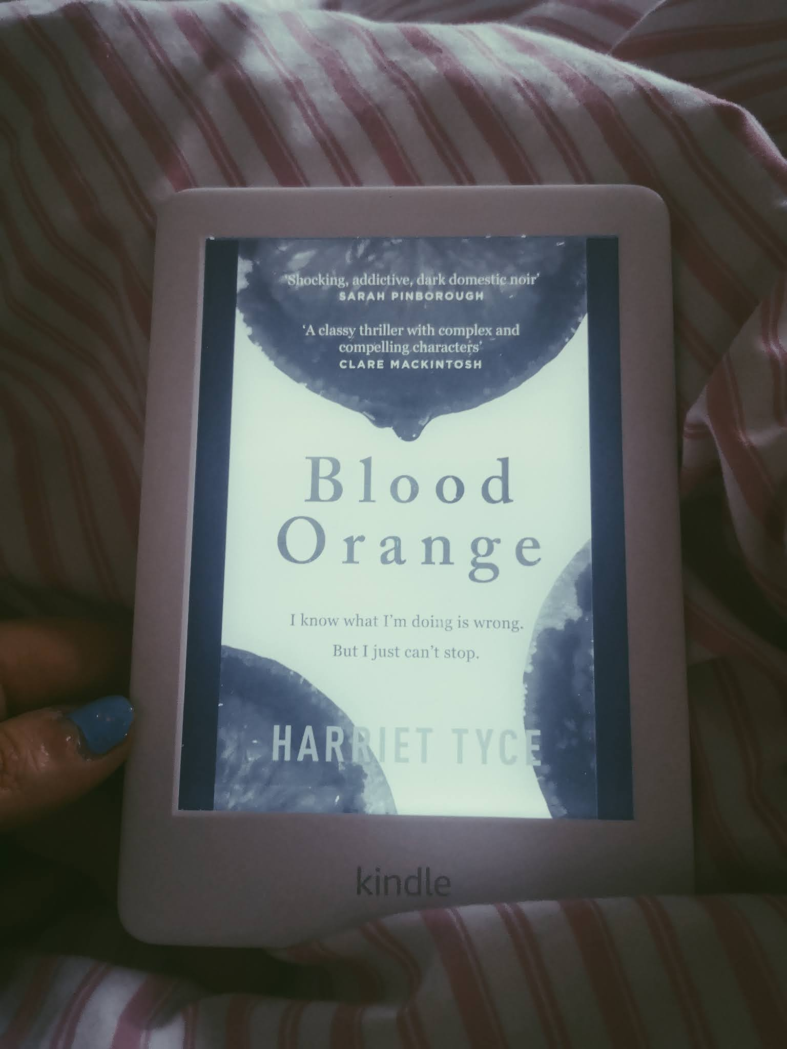 Blood Orange by Harriet Tyce