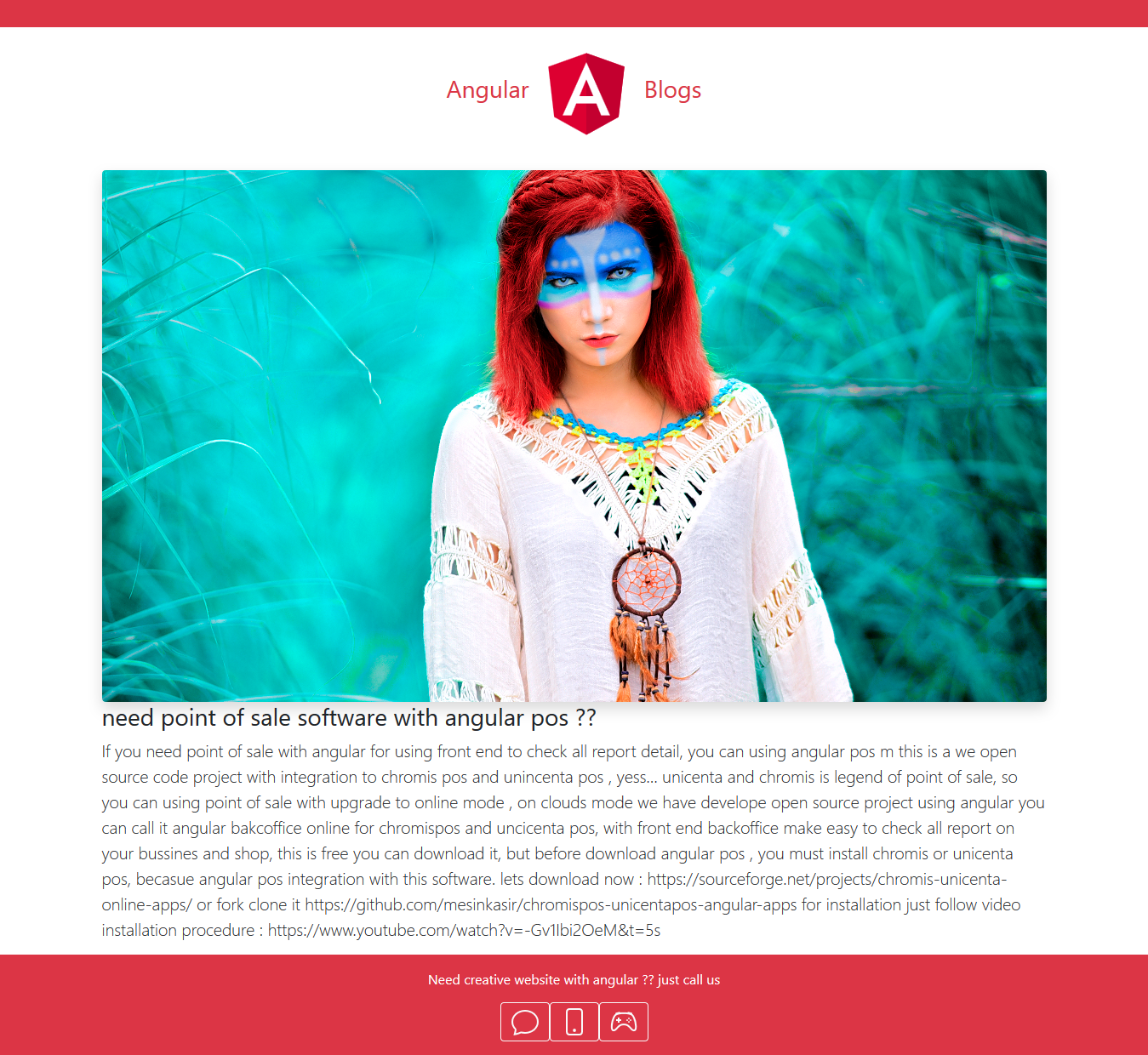Angular Blog New modern with SEO