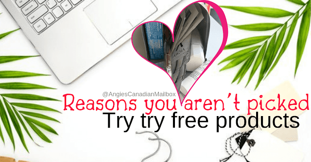 Get picked to try free products