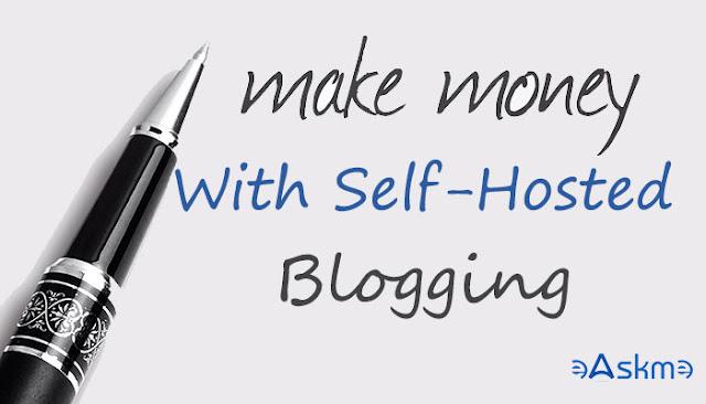 How to Make Money WordPress Blogs Self hosted: eAskme