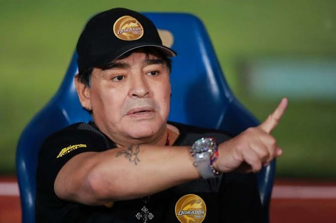 Argentina legend Diego Maradona admitted to hospital just days after 60th birthday