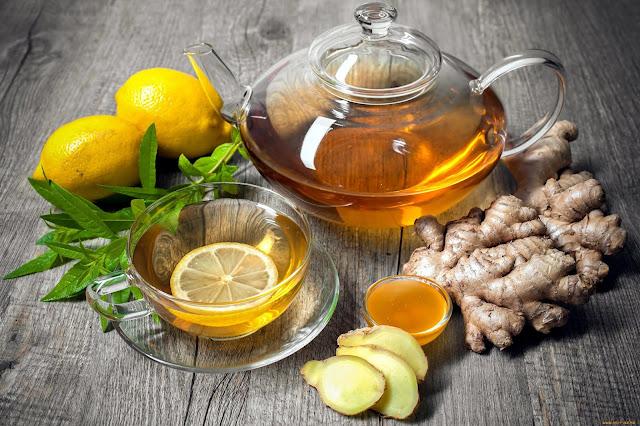 Имбирный чай картинка