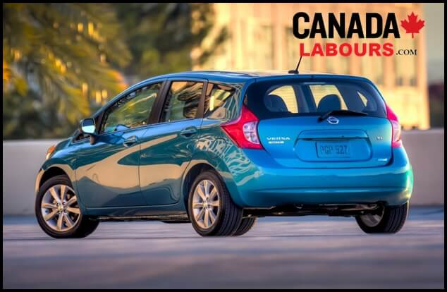 Nissan Versa Note, cheapest electric cars in Canada