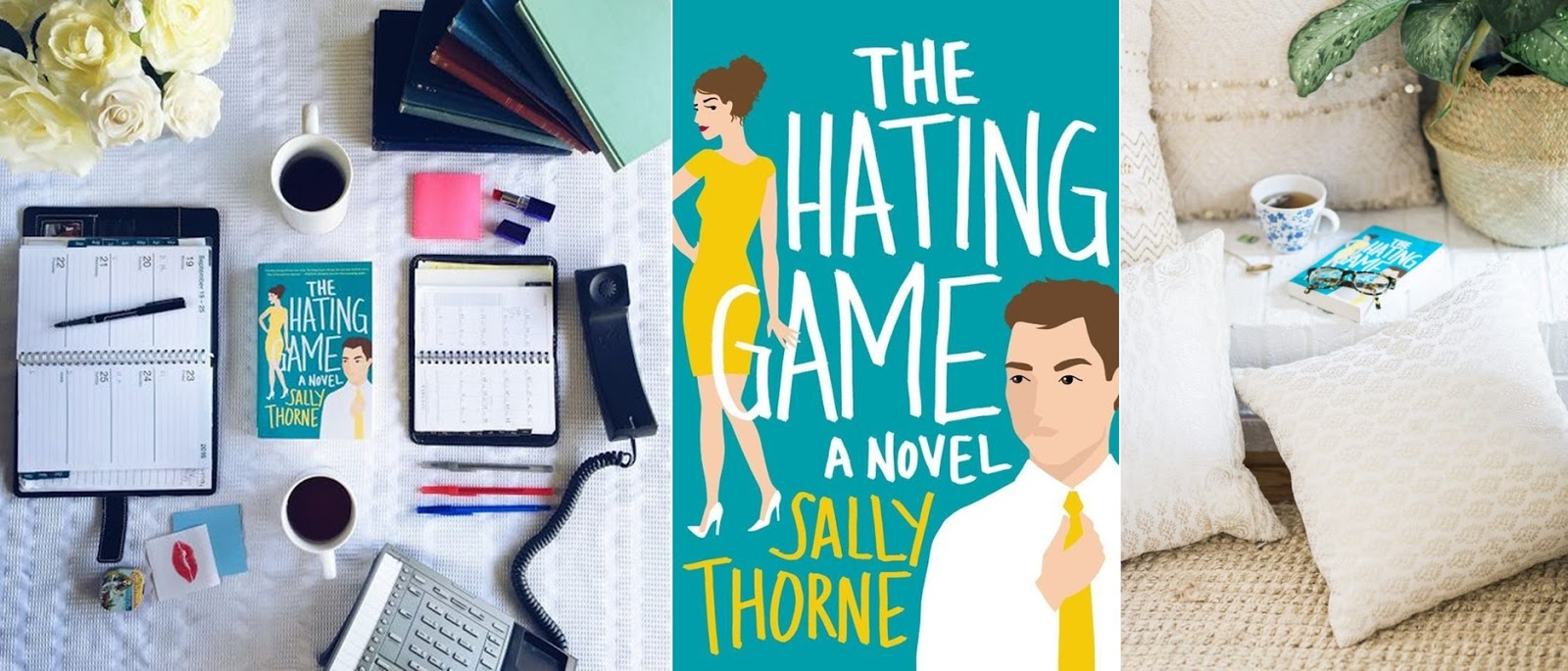 Egy imadnivalo chick-lit | Sally Thorne - The Hating Game (A gyuloletjatek)