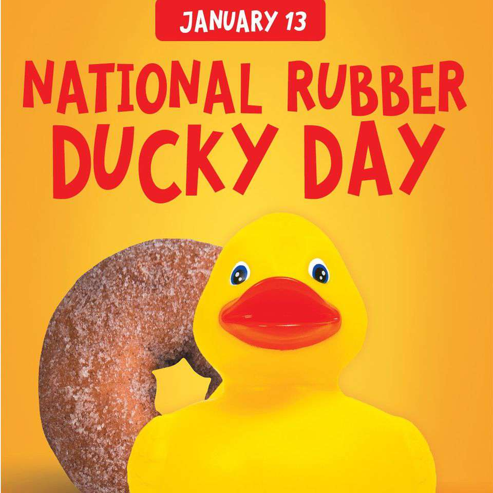 National Rubber Ducky Day Wishes For Facebook