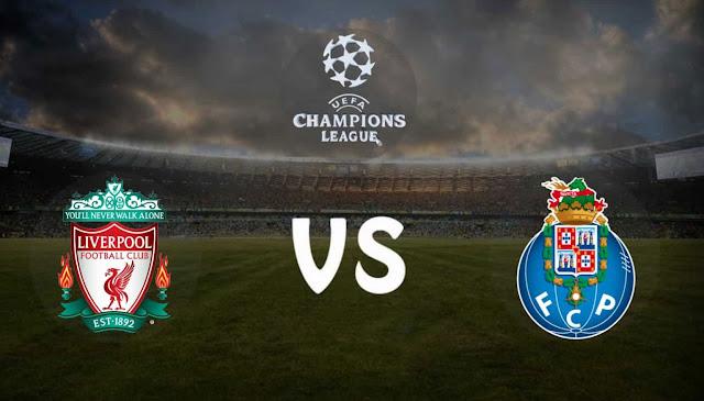 Watch Match Porto vs Liverpool Live Streaming UEFA Champions League