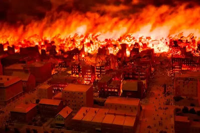 kebakaran besar
