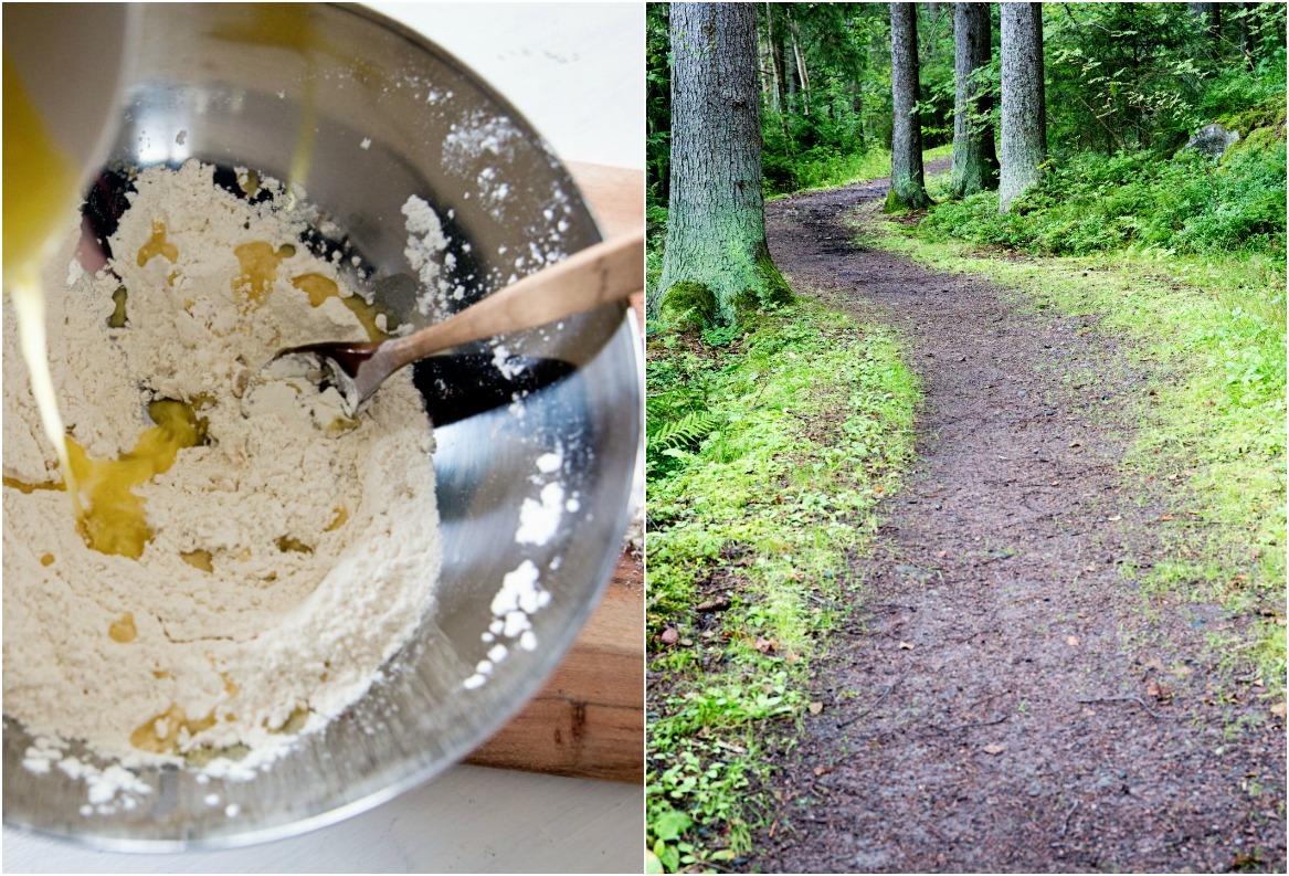 aamiainen, leivonta luonto