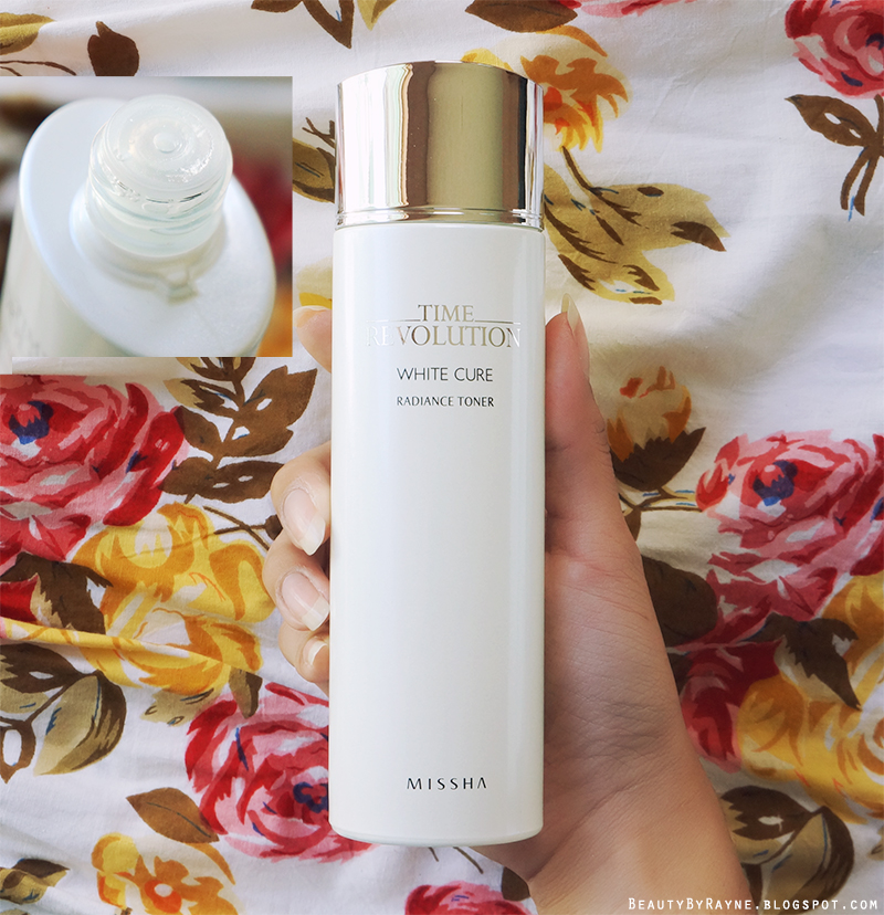First impressions review missha Time Revolution White Cure Radiance Toner