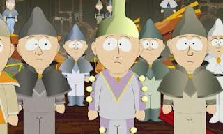 South Park Episodio 10x12 Vamos Dios, vamos