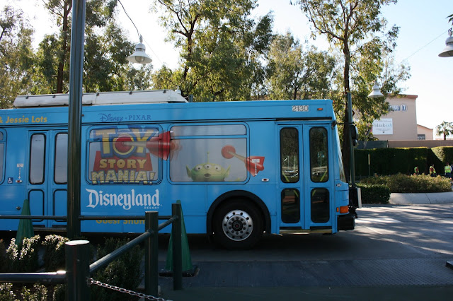 Free Disneyland Transport - How to Get to the Toy Story Parking Lot from Homewood Suites by Hilton Anaheim Resort Convention Centre