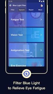 تحميل تطبيق Blue Light Filter Screen Dimmer for Eye Care 3.3.3.6.apk-شاشة باهتة للعناية بالعين