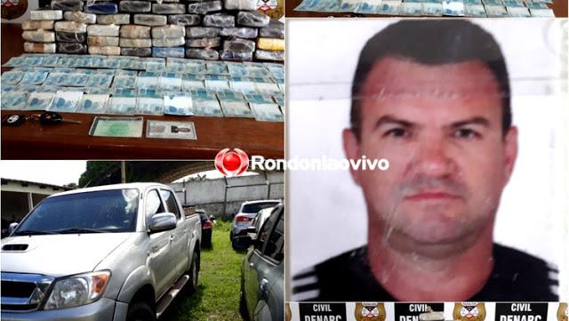 Nova Mamoré: DENARC prende traficante com droga avaliada em mais de R$ 1 milhão