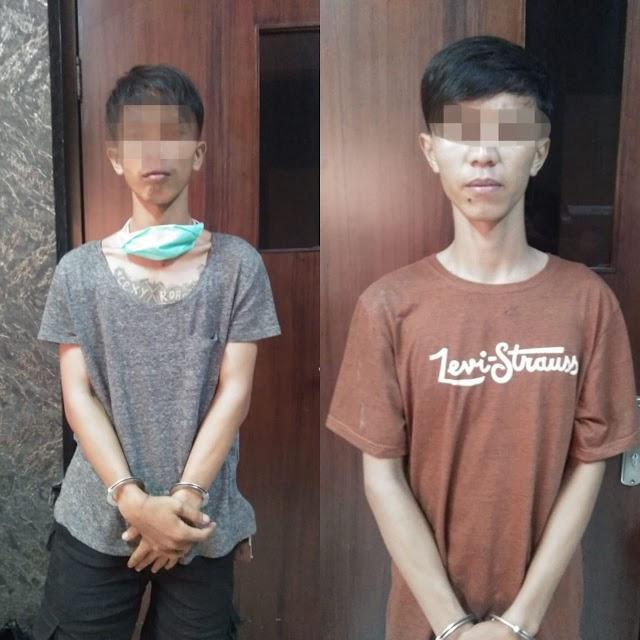Polres Karawang Ringkus Dua Pemuda Pembobol Minimarket