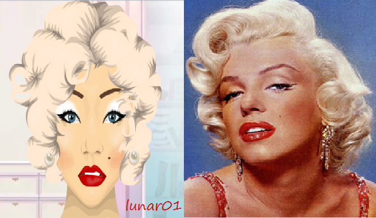 Makeup Looks On Stardoll Marilyn Monroe Makeup Look On Stardoll