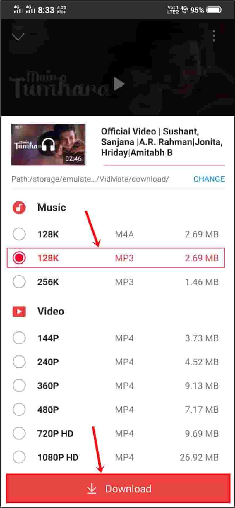 gane download karne wala app