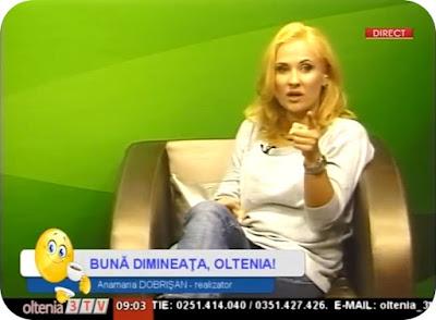 Buna dimineata Oltenia, cu Anamaria Dobrisan
