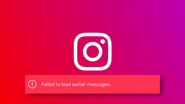 Fix Failed to Load Earlier Messages Error on Instagram