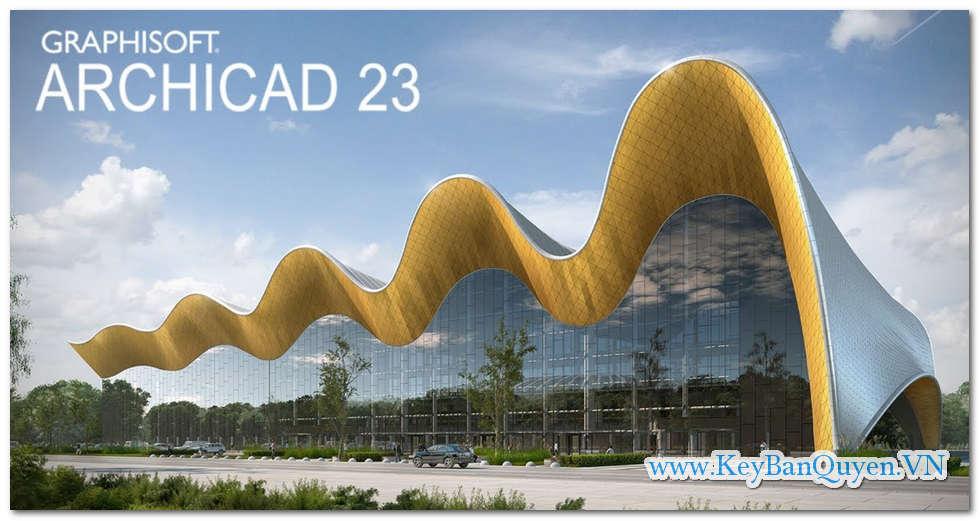 Download và hướng dẫn cài đặt GRAPHISOFT ARCHICAD 23 Build 3003 Full Key .