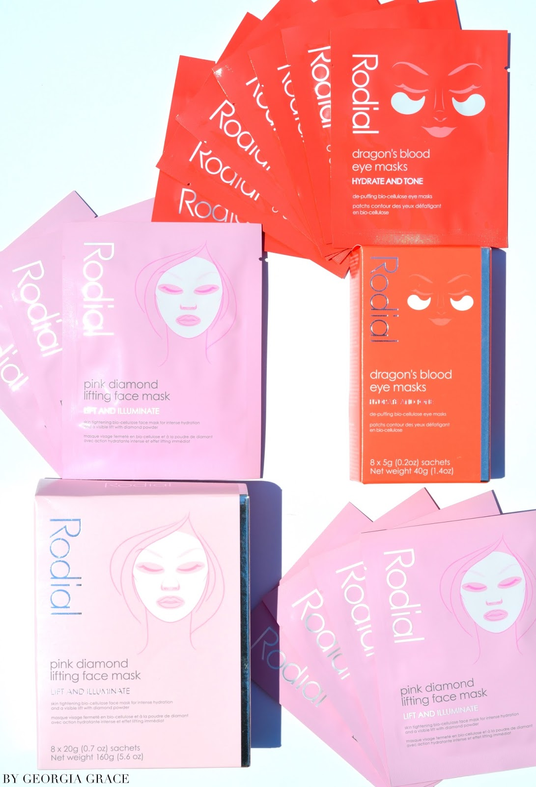 955f7aa85a566 Rodial Dragon's Blood Eye & Pink Diamond Face Masks   Review   By ...