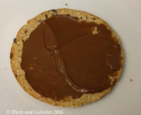 Diets and Calories: Jim Jams Less Sugar Hazelnut Chocolate