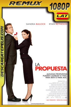 La propuesta (2009) 1080p BDRemux Latino – Ingles