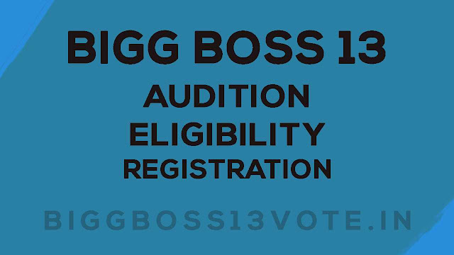 Bigg Boss 13 Audition