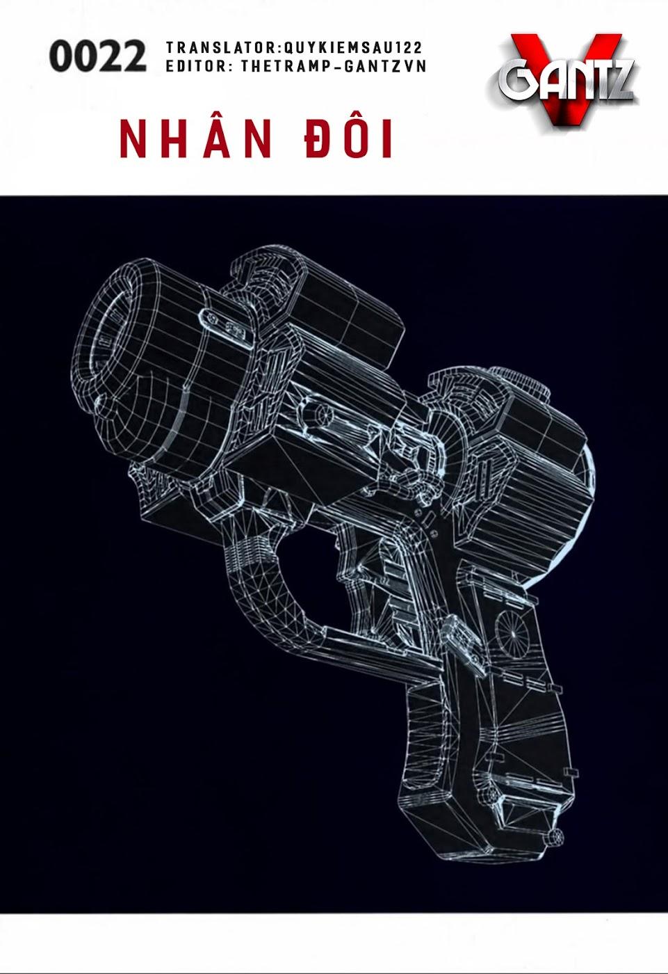 Gantz Chap 22: Nhân đôi trang 1