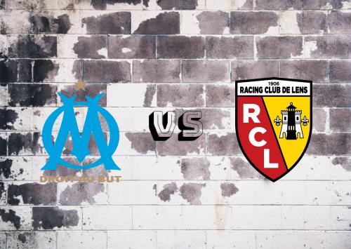 Olympique Marseille vs Lens  Resumen