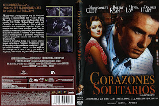 Carátula dvd: Corazones solitarios (1958) Lonelyhearts