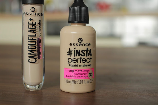 Essence #insta perfect liquid make up Review und swatches