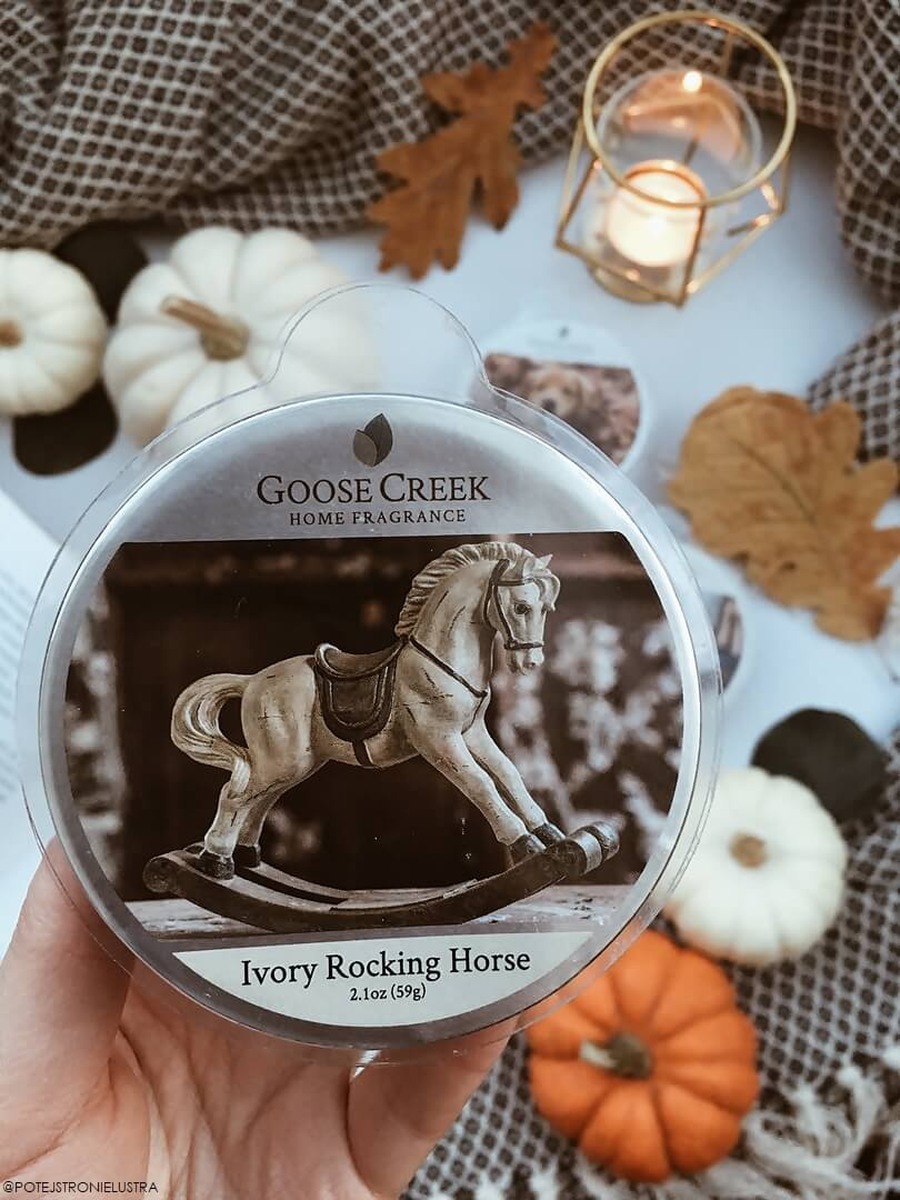 goose creek ivory rocking horse recenzja na blogu