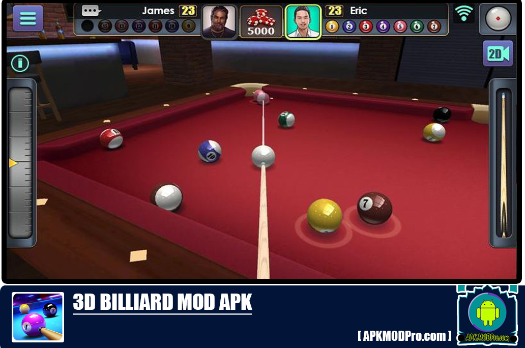 Download 3D Billiard Mod Apk