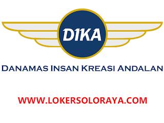 Loker Solo Raya Mei 2021 di PT Danamas Insan Kreasi Andalan