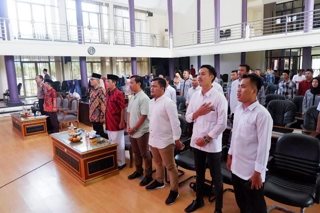 Agun Gunandjar Sudarsa Beri Keynote Speaker Di Pelantikan Galuh Jaya