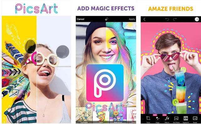 Resultado de imagen para picsart app
