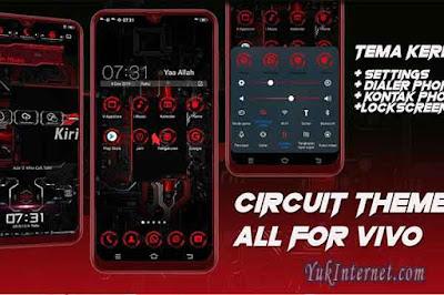 download tema vivo red circuit