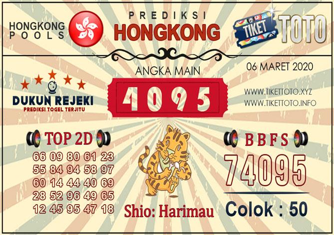 Prediksi Togel HONGKONG TIKETTOTO 06 MARET 2020